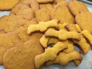 biscotto zucca di halloween